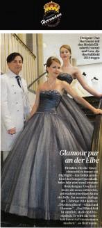 Jedes Jahr wird vom Dresdner Modedesigner Uwe Herrmann ein neues [Kleid für den SemperOpernball] entworfen, getreu dem jeweiligen Motto des Balls - Hochzeitsmode Dresden - Uwe Herrmann