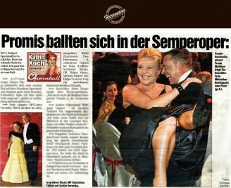 Sehr elegant: MP-Gattin Veronika Tillich strahlte im zitronengelben Kleid (Festmoden Uwe Herrmann) - Hochzeitsmode Dresden - Uwe Herrmann