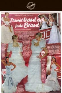 Sachsens größter Brautmodenausstatter Uwe Herrmann zeigt schon vor der Messe einen Teil seiner neuen Kollektion - Hochzeitsmode Dresden - Uwe Herrmann
