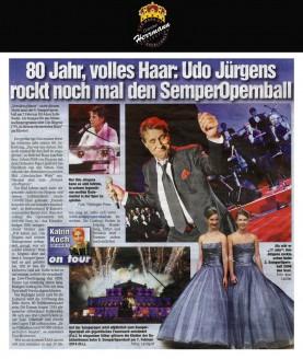 Die Damen tragen 2014 glamouröse Kleider von Uwe Herrmann - Hochzeitsmode Dresden - Uwe Herrmann