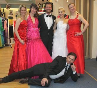 MDR – Hier ab vier: Klehn hat's gesehen - Hochzeitsmode Dresden - Uwe Herrmann