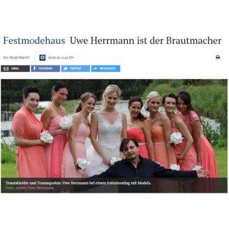 MZ: Festmodehaus Uwe Herrmann ist der Brautmacher - Hochzeitsmode Dresden - Uwe Herrmann