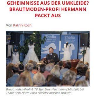 Tag24: GEHEIMNISSE AUS DER UMKLEIDE? BRAUTMODEN-PROFI HERMANN PACKT AUS - Hochzeitsmode Dresden - Uwe Herrmann