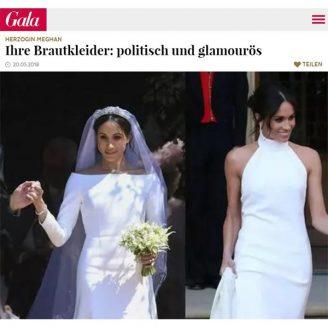 Gala: Ihre Brautkleider: politisch und glamourös - Hochzeitsmode Dresden - Uwe Herrmann