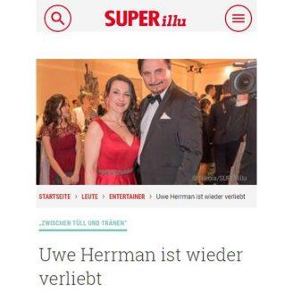 Superillu: Uwe Herrman ist wieder verliebt - Hochzeitsmode Dresden - Uwe Herrmann
