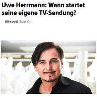 Huffingtonpost: Wann startet seine eigene TV-Sendung? - Hochzeitsmode Dresden - Uwe Herrmann