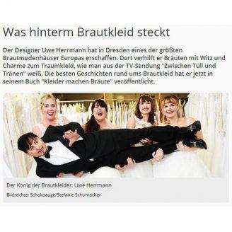 MDR: Was hinterm Brautkleid steckt - Hochzeitsmode Dresden - Uwe Herrmann