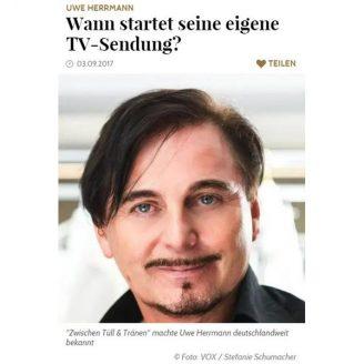 Gala: Wann startet seine eigene TV-Sendung? - Hochzeitsmode Dresden - Uwe Herrmann